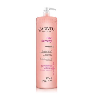 SHAMPOO REPARADOR HAIR REMEDY CADIVEU PROFESSIONAL 980 ML