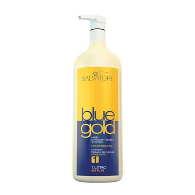 SHAMPOO BLUE GOLD SALVATORE COSMETICOS 1 L.