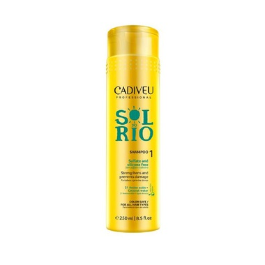 SHAMPOO SOL DO RIO CADIVEU PROFESSIONAL 250 ML