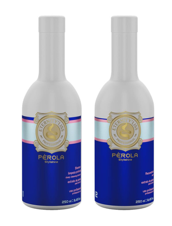 PEROLA STYLISHINE ETERNITY LISS PROFESSIONAL 2 x 250 ML