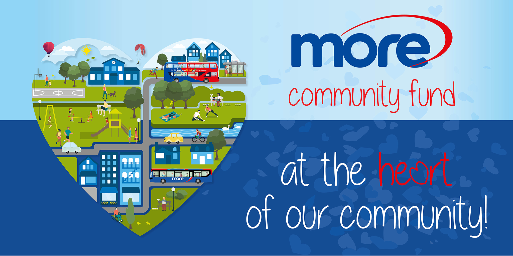 Illustration image representing morebus Community Fund
