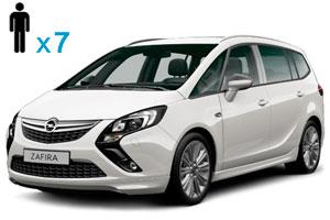 Opel Zafira 7 мест