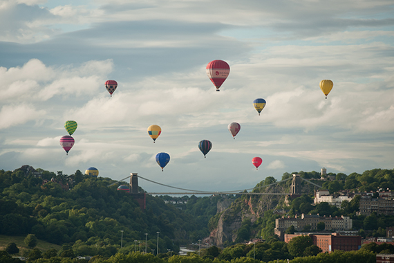 Baloons over Bristol
