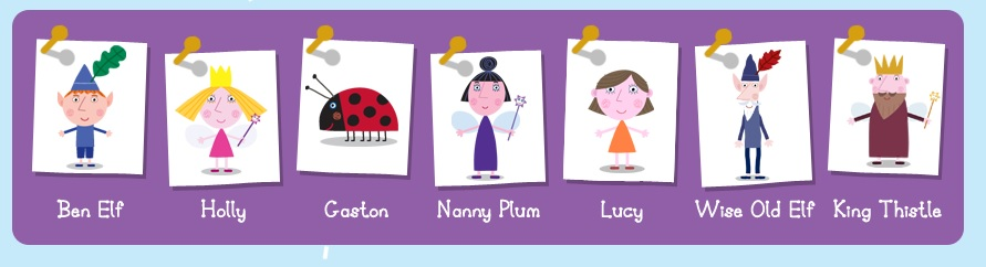 Ben and Holly characters