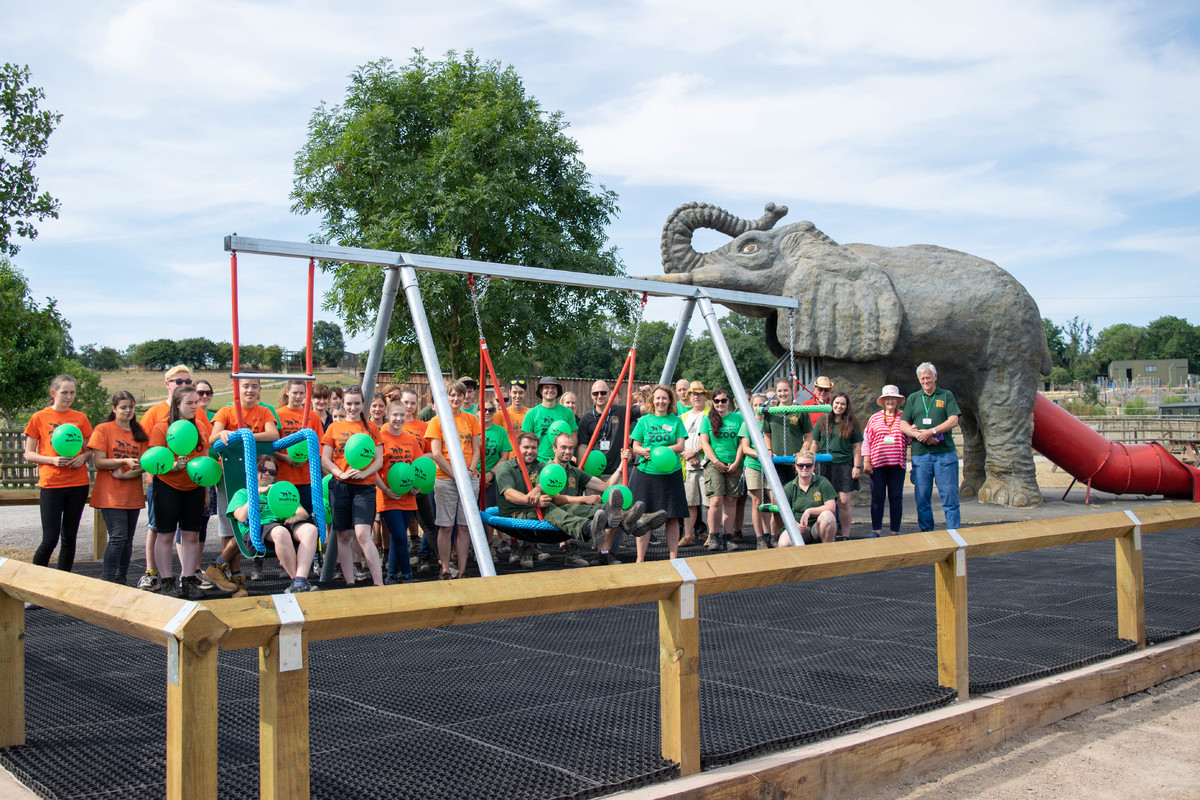 Noah's Ark Zoo Farm wins Silver for Ark For All at the