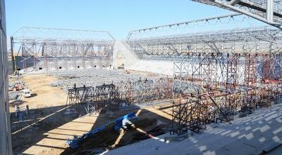 בניית האצטדיון החדש בבאר שבע (מרטין גוטדאמק)