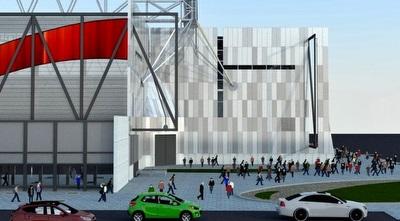 הדמיית האצטדיון החדש בבאר שבע