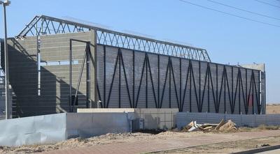 האצטדיון החדש בבאר שבע (מרטין גוטדאמק)