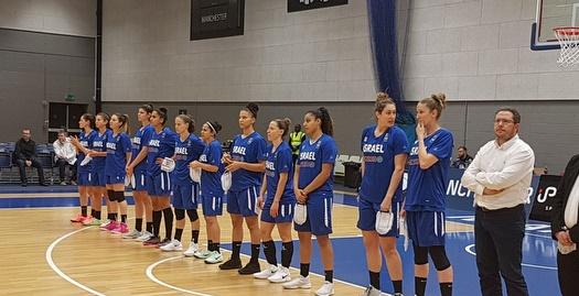 נבחרת ישראל נשים בכדורסל (צילום: דוברות איגוד הכדורסל)