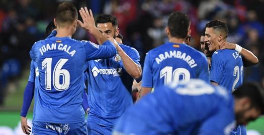 שחקני חטאפה חוגגים (La Liga)