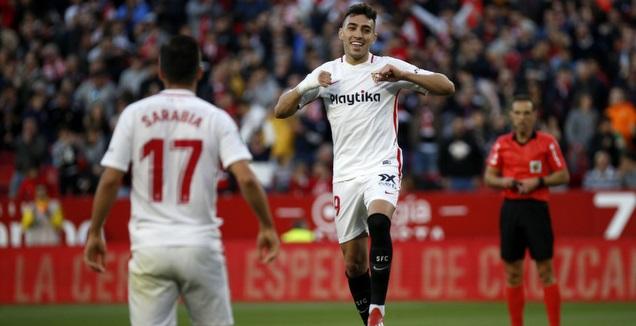 מוניר אל חדאדי חוגג (La Liga)