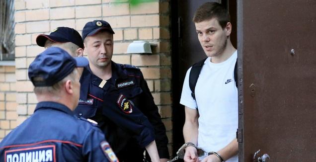 שני שחקני נבחרת רוסיה נידונו לעונש מאסר