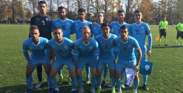 נבחרת ישראל עד גיל 19 נגד הולנד (ההתאחדות לכדורגל)