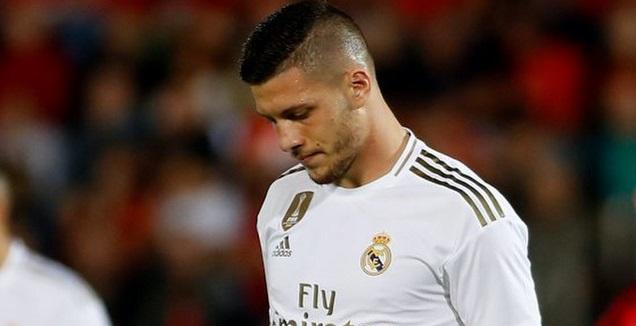 לוקה יוביץ' מאוכזב (La Liga)