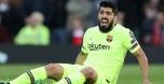 ברצלונה הודיעה: לואיס סוארס יעבור ניתוח