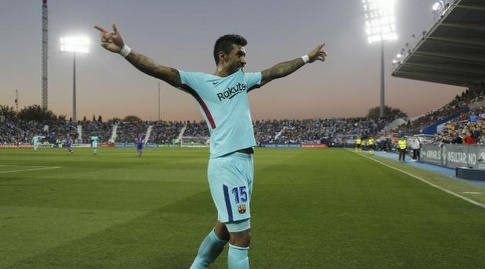 פאוליניו חוגג (La Liga)