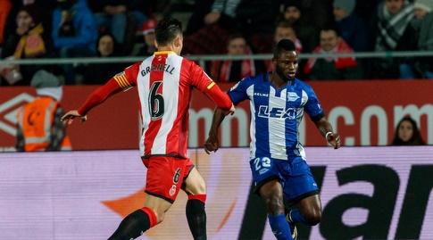 מובארק ווקאסו מרים את הכדור (La Liga)