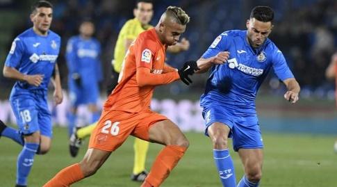 יוסף אן נסירי מנסה לחטוף את הכדור (La Liga)