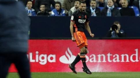 פרנסיס קוקלן חוגג שער (La Liga)