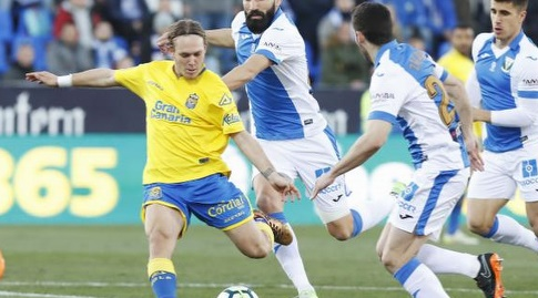 אלן חלילוביץ' מתכונן לבעיטה (La Liga)