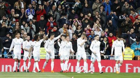 רונאלדו חוגג את שערו השני (La Liga)