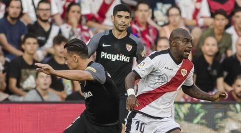 גאל קאקוטה נאבק על הכדור (La Liga)