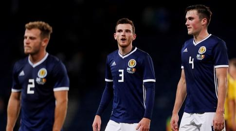 שחקני סקוטלנד מאוכזבים (רויטרס)