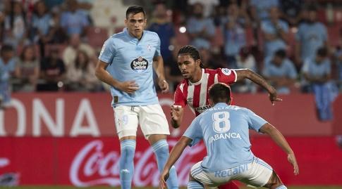 פראן בלטרן מנסה ללקט את הכדור (La Liga)