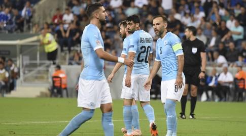 ירדו למקום ה-92. שחקני נבחרת ישראל מאוכזבים (נעם מורנו)