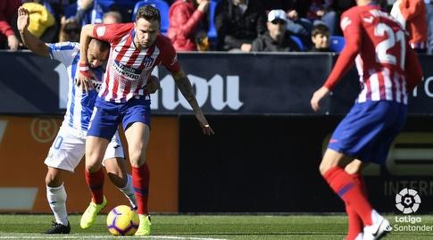 סאול שומר על הכדור (La Liga)