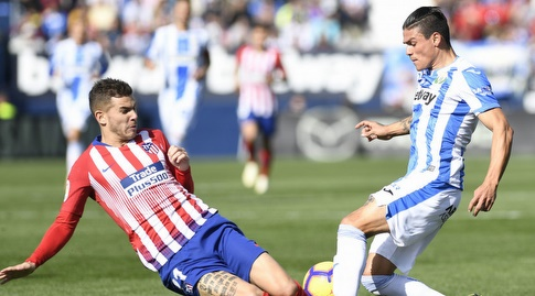 לוקאס הרננדס גולש לכדור (La Liga)