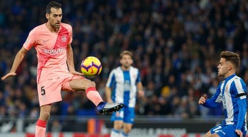 סרחיו בוסקטס עם הכדור (La Liga)
