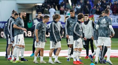 שחקני ריאל מדריד, יעלו למשחק לפרוטוקול בלבד (רויטרס)