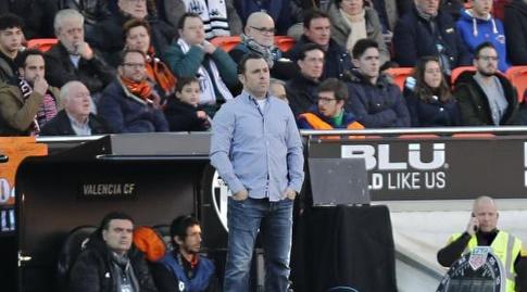 סרחיו,מאמן ויאדוליד. חייב נקודות (La Liga)