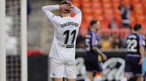 דניס צ'רישיב מאוכזב (La Liga)
