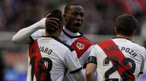 שחקני ראיו חוגגים (La Liga)