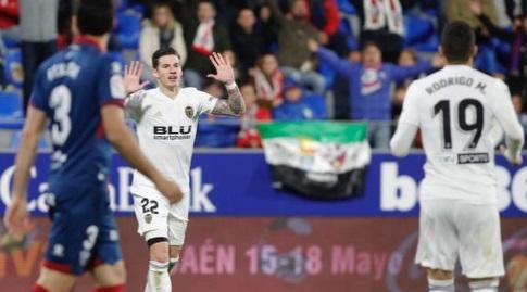 סאנטי מינה חוגג (La Liga)