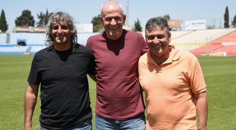 רמי לוי, יורם אורנשטיין ואבינועם מליחי (חגי מיכאלי)