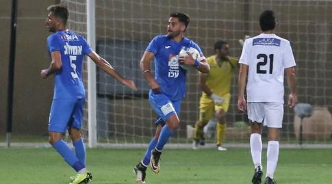אליאור סיידר חוגג. כבש 14 שערים בעונה החולפת (עמית מצפה)