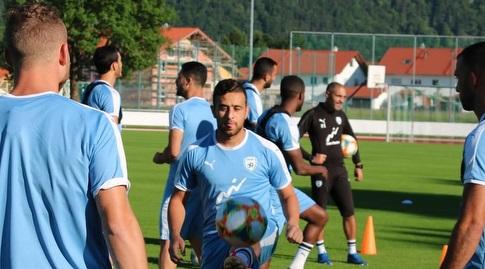 דיא סבע באימון הנבחרת (ההתאחדות לכדורגל)