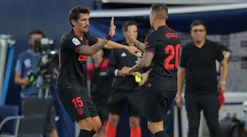 ויטולו חוגג עם סאביץ' (La Liga)