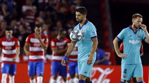 איבן ראקיטיץ' ולואיס סוארס מאוכזבים (La Liga)