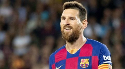 ליאו מסי (האתר הרשמי של ברצלונה)