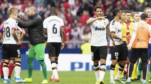 דני פארחו בסיום המשחק (La Liga)