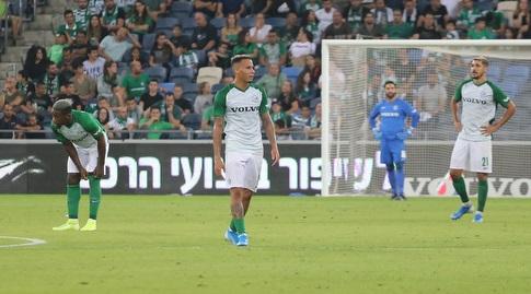 צ'ירון שרי ושחקני חיפה מאוכזבים (עמית מצפה)