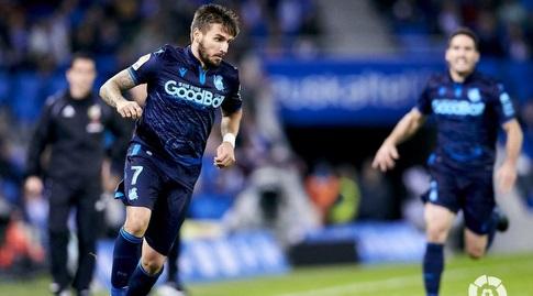 כריסטיאן  פורטו עם הכדור (La Liga)