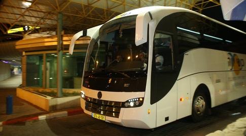 האוטובוס של נבחרת אורוגוואי (שחר גרוס)
