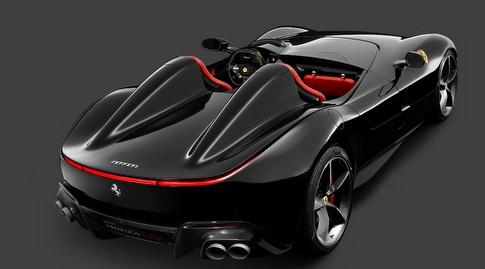 FerrariMonza SP2 (מתוך האתר הרשמי)