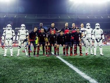 במקסיקו החליטו לקדם את הסרט מלחמת הכוכבים בצורה ייחודית