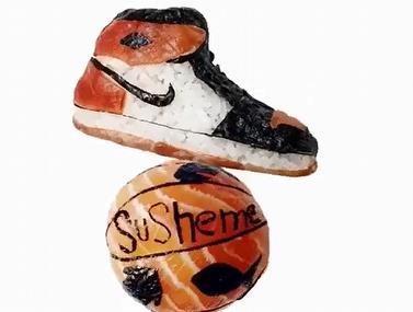 זה לא כדור ולא נעליים, זה פשוט סושי נדיר